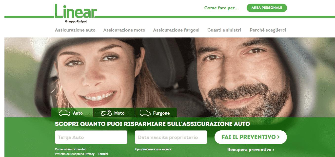 linear assicurazione auto