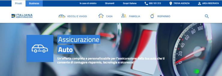 assicurazione auto italiana assicurazioni