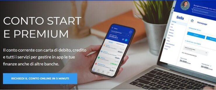 Conto Corrente Banca Sella Start e Premium