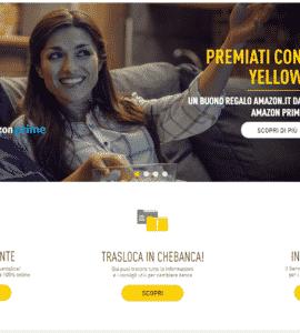 conto yellow chebanca