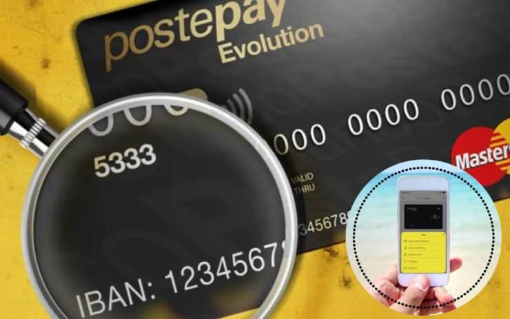 carta prepagata postepay evolution