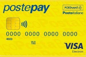 Carta Prepagata Postepay Base