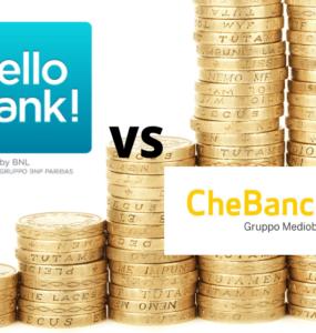 hello bank vs chebanca