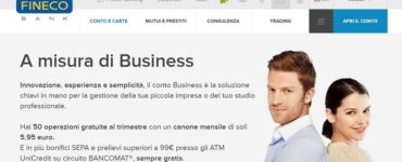 fineco small business