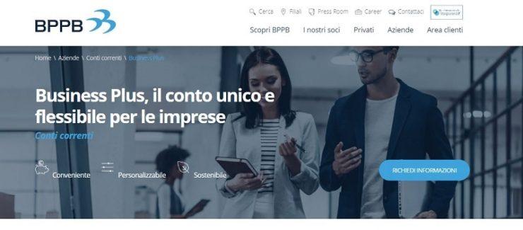 Conto Business Plus di Banca Popolare di Puglia e Basilicata