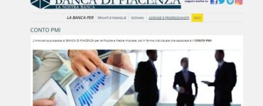 Conto PMI di Banca di Piacenza