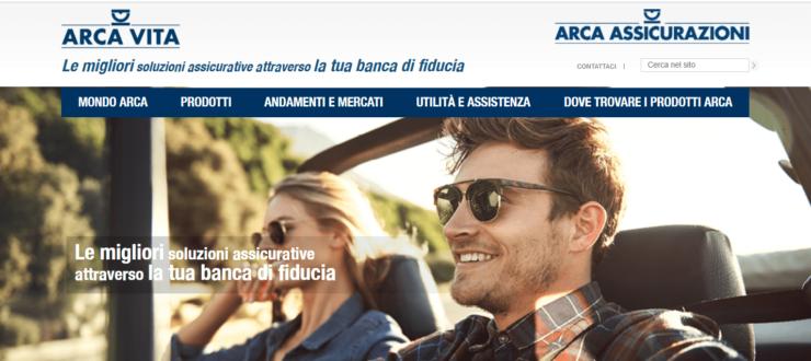 assicurazione auto arca