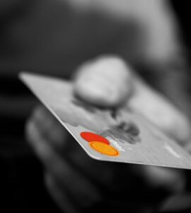 Carta di credito platino