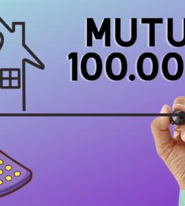 mutuo 100000 euro