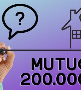 mutuo 200000 euro